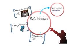 Copy of U.S. History-Back to School Night