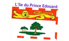 L'Ile du Prince Edouard