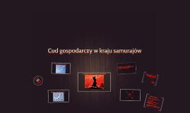 Cud gospodarczy w kraju samurajów