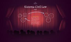Copy of Sistema Civil Law