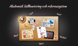 Akademisk källhantering och referenssystem