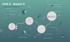 Unit 3 - lesson 5
