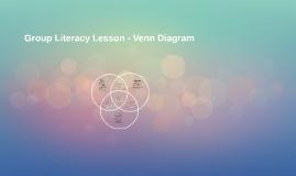 Group Literacy Lesson - Venn Diagram
