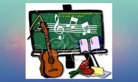 ¿Cómo planificar la expresión musical