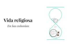 Vida religiosa