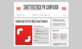 SHUTTERSTOCK PR CAMPAIGN