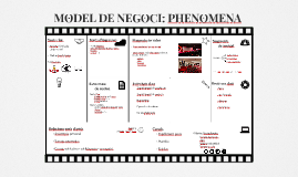 MODELO DE NEGOCIO: PHENOMENA