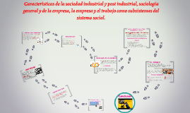 Copy of Copy of  Características de la sociedad industrial y post industrial