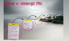 Goldman vs. Weinberger (1986)