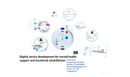 Online Therapy and Vocational Rehabilitation Service