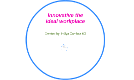 Innovative the ideal workplace-6G