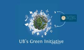 UB Green Initiative Project