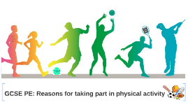 GCSE PE: Reasons for taking part in physical activity