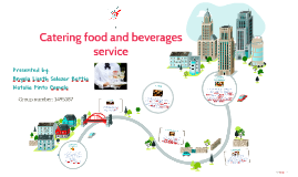 Catering food and beverages service