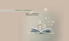 MÓDULO  II.  Diseño y elaboración de material didáctico impreso.