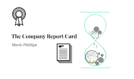 The Company Report Card