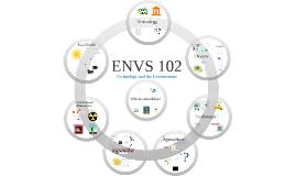 ENVS 102:  Technology & The Environment