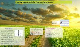 Copy of Función exponencial y Función logarítmica