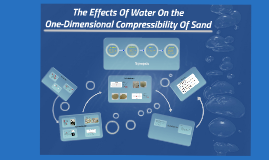 The Effects of Water on the One Dimensional Compressibility of Sand