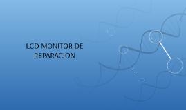LCD MONITOR DE REPARACIÓN