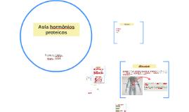 Aula hormônios proteicos
