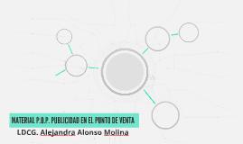 MATERIAL P.O.P. PUBLICIDAD EN EL PUNTO DE VENTA