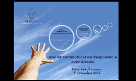 Copy of Atelier Communication Responsable par Altavia