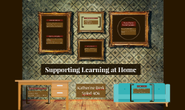 Supporting Learning at Home