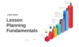 Lesson Planning Fundamentals