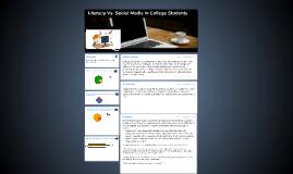 Literacy Vs. Social Media in