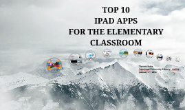 Top 10 iPad Apps for the Elementary Classroom