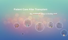 Patient Care After Transplant