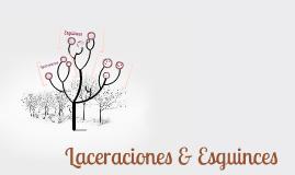 Laceraciones & Esguinces