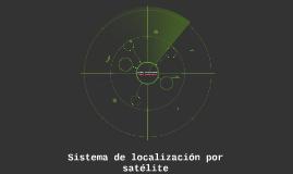 Sistema de localizacion por satelite