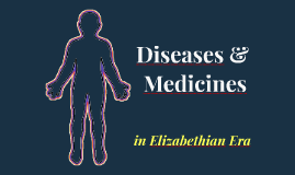 Diseases / Medicines in Elizabethian Era