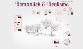 Copy of Romantiek en realisme