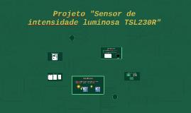 """Projeto """"Sensor de intensidade luminosa TSL230R"""""""