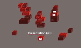 Presentation MFE