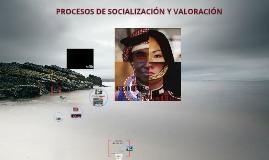 Copy of Procesos de socialización y Valoración