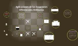 Copy of Aplicaciones de las Ecuaciones Diferenciales ordinarias