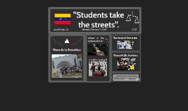 Students take over