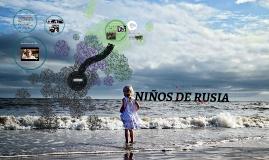 NIÑOS DE RUSIA