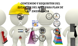 PLAN DE EMERGENCIA (NFPA 101)