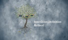 Innovation Definition Refined