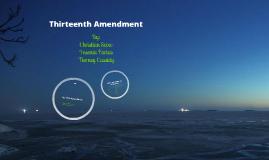 Gov/Econ 13 Amendment