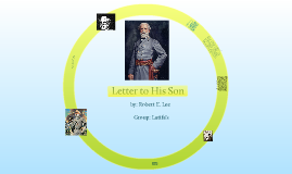 Copy of Letter to his son