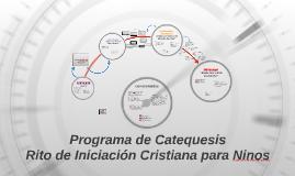 Copy of Catequesis de Iniciación Cristiana de Adultos