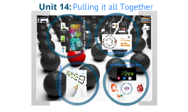 AAD 600, Unit 14: Pulling it all Together