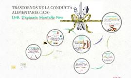 Copy of TRASTORNOS DE LA CONDUCTA ALIMENTARIA (TCA)