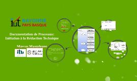 Initiation à la Rédaction Technique - IUT de Bayonne
